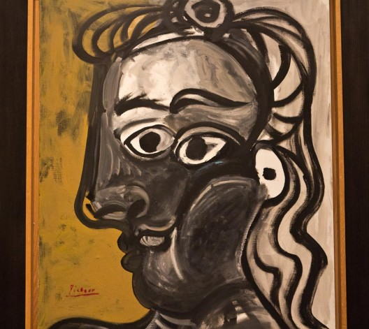 picasso – head of a woman