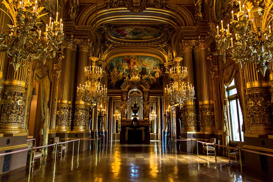 The Grand Foyer Palais Garnier : The grand foyer serena yang